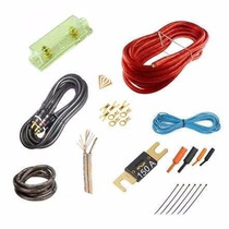 Kit De Cables Instalacion Para Potencias Hasta 3600w Oferta!