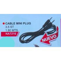 Cable Alargue Mini Plug1,80 Metros Na 7216