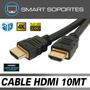 Cable Hdmi V1.4b 4k 1080p Fullhd 3d - Largo 10 Metros