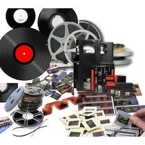 Digitalizar Películas 8mm / Super8 / 16mm A Dvd
