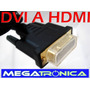 Cable Dvi A Hdmi Oro Cable Mallado 1.5mts Pc-lcd Hdtv-proyec