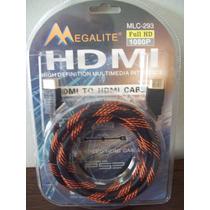 Cable Hdmi A Hdmi Multimedia 1,80 Metros Apto Playstation 3