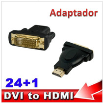 Adaptador Dvi Macho 24+1 A Hdmi Macho