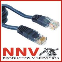 Cable De Red Armado Listo Para Usar - 5 Metros De Largo