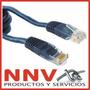 Cable De Red Armado Listo Para Usar - 3 Metros De Largo
