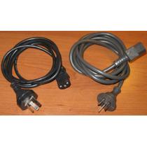 Cable Power Para Pc Ficha Argentina Nuevo