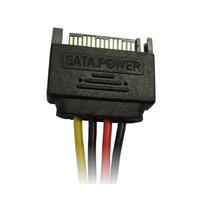 Cable Sata Nisuta Ns-casapo M A Power Molex 15 Cm