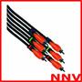 Cable 3 Rca A 3 Rca 3 Metros Bespeco Audio Profesional Nnv