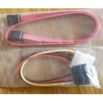 Cable Sata Datos+cable Sata Power Serial Ata Para Hd Combo
