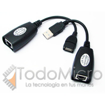 Cable Alargue Usb Activo Hta 50 Metros X Utp Webcam Printer