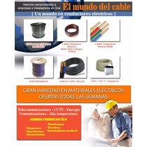 Cable Utp Cat 5e Exterior Somos Fabricantes $880