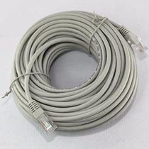Cable De Red 10 Mts Con Fichas Rj45 Ethernet Utp