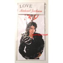 Michael Jackson Bad Dije Colgante Collar Acero Importado