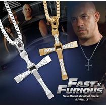 Cruz Y Cadena De Dominic Toretto Rapido Y Furioso Simil