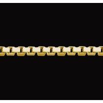Cadena Oro 18 K Esl. Cuadrados