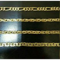 Cadenas De Oro18kl Tipo Soga 60cm Amarillo Rojo. Fabricante.