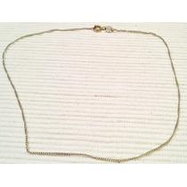 Cadena Finita Vanesa Duran Oro Blanco Gold Filled 14k 35cm