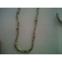 Gargantilla De Plata Con Oro