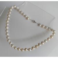 Collar De Perlas Barrocas Cultivadas, Perlas De Agua Dulce