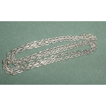 Larga Cadena Collar Plata 925 Largo 64 Cms