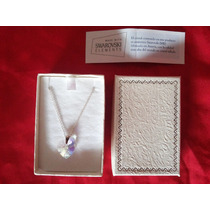 Collar Crystal Swarovski Elements Original Plata 925 Gbasur