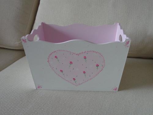 Cajas pintadas para beb s imagui - Cajas decoradas para bebes ...