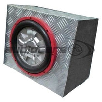 Woofer Lyf Bte1080 Con Caja Acustica Incluida 10 500w 8ohms