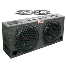 Caja Ductada Doble Doble Woofer Tweeter 300 Watts Xxx By A.p