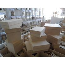 Cajas De Fibrofacil Mdf (3mm) 20x20x20 Plegado En Una Pieza