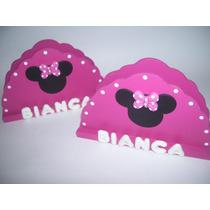 Servilleteros Minnie Mickey Sapo Pepe Kitty Y Mas!!!