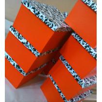 Cajas De Carton Forradas! Medidas A Pedido - Resistentes!
