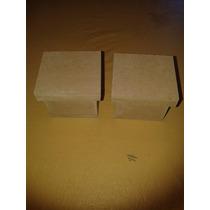 Cajitas De 5x5x5 Con Tapa De Fibrofacil X 10 Unidades