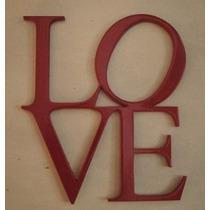 Letras De Madera Fibrofacil Para Pintar Super Oferta 25cm