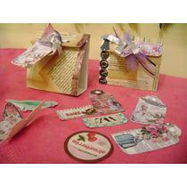 Cajas Vintage , Decoradas, Para Bombones, Caramelos Etc