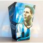 Cono Para Pochoclos Y Golosinas Messi Argentina Pack X10