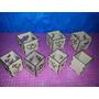 5 Fanales Caladas De 10x10x10, Centros De Mesa, Souvenirs