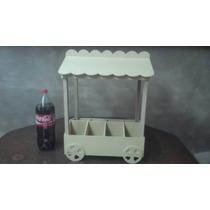 Carrito Kiosco Candy Bar Grande 42 X 27 X 60 Ff 5.5 Y 3mm