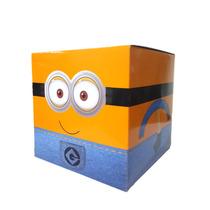 Caja Cubo Golosinera Personalizadas,minecraf,minions,peppa