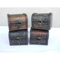 Cofres De Madera Tipo Alhajeros Medianos Ideal Souvenirs X 2