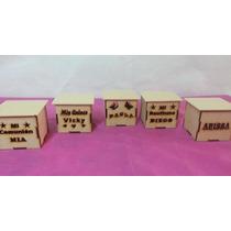 Cajas Fibrofacil De 8x8x8 Personalizadas X 10 Unidades !!!