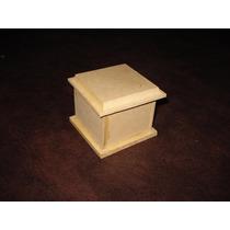 Caja De Fibrofacil Biseladas 7x7 Souvenir 10 Unidades