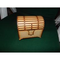 Cofre Baul Caja Mdf Fibrofacil Corte Laser
