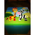 Caja Guardajuguetes 40x50 + Portacosmeticos De Regalo