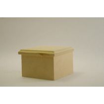 Caja Fibrofacil 3x3 Con Tapa Bisel Ideal Souvenir X Unidad