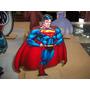 Estampaditos Superman Para Centro De Mesa De 16 Cm