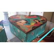 Caja Regalo 15 Años Casamientos Souvenirs Vintage Novios