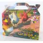 Cajita Canciones De La Granja Animales Pack X10 Valijitas
