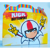 Cajita Golosinera Kick Buttowski Pack X10 Valijitas