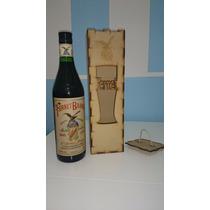 Caja Fibrofacil/mdf Porta Fernet 75 Cl *ideal Souvenir*