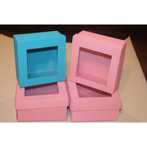 Caja Cartón Microcorrugado T Visor 12x12x6 Color